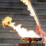 Олимпийский огонь Греция