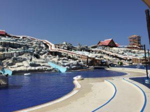 Аквапарк Ice Land, отдых в Эмиратах, 2014 год