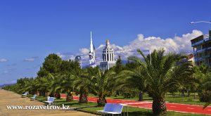 Отдых в Грузии - отели Тбилиси эконом класса. Вылет из Алматы а/к Air Astana
