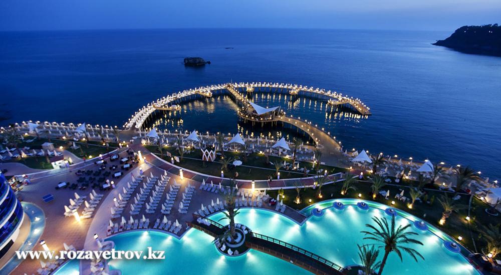 Горящие туры в Турцию из Алматы на 19 и 22 июня (3153-01)