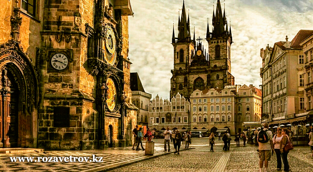 Туры в Чехию, акция - экскурсия по Праге в подарок. Вылет из Алматы 30 марта (5974-07)