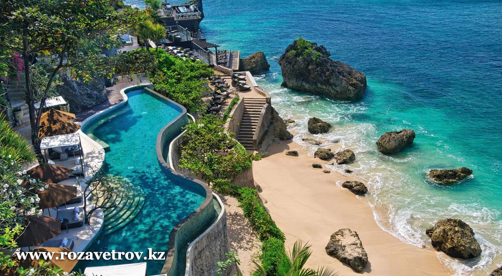 Туры в Индонезию, отдых на острове Бали, перелет а/к Air Astana, через Куала-Лумпур (1 ночь)