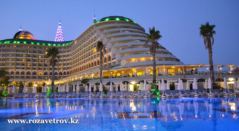 Престижный отдых в Турции, сеть отелей DELPHIN 5*. Раннее бронирование (5690-22)