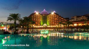 Сеть отелей DELPHIN 5* (UAI) - элитный отдых в Турции (4323-22)