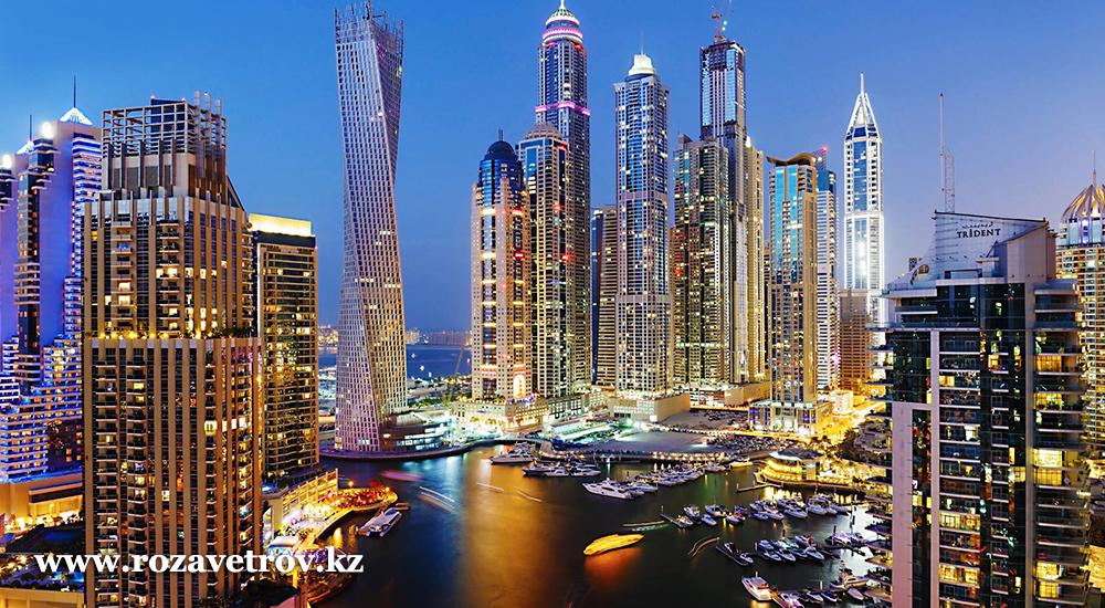 Туры в ОАЭ - улетные цены на февраль. Вылет из Алматы (5813-07)