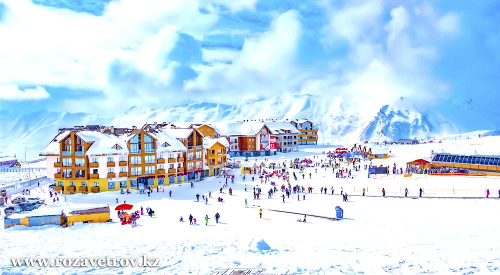 Туры в Грузию, горнолыжные курорты Бакуриани и Гудаури. Добро пожаловать на лучший горнолыжный курорт в Грузии (5554-07)