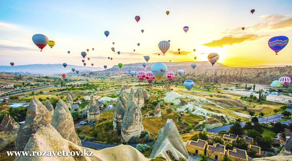Экскурсионные туры в Турцию из Алматы на 2019 год. Групповые и индивидуальные экскурсионные туры в Каппадокию (5569-07)
