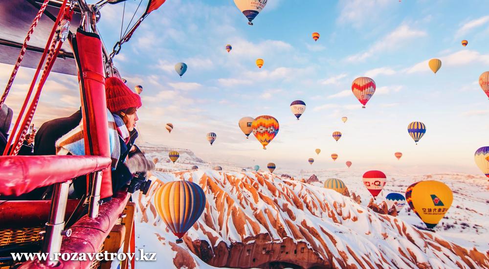 Экскурсионный тур в Каппадокию, Турция. Проведи день влюбленных в сказочной Каппадокии (5783-07)