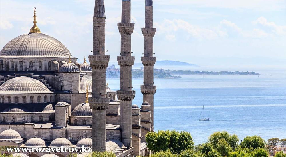 Экскурсионные туры в Турцию. Вылет из Алматы 28 февраля (5803-07)