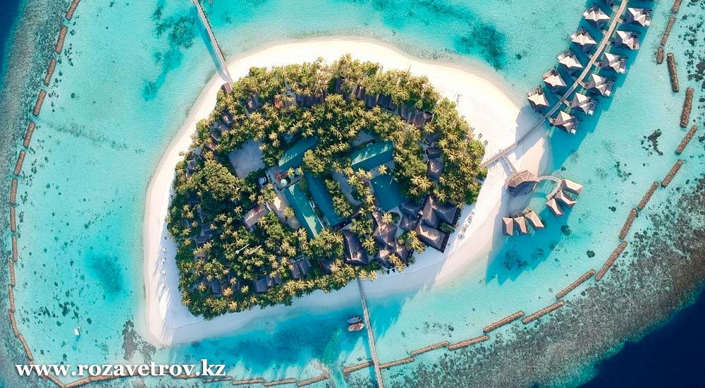 Туры на Мальдивы, прямой перелет из Алматы. Встречаем Новый Год на райском побережье океана! (6689-01)