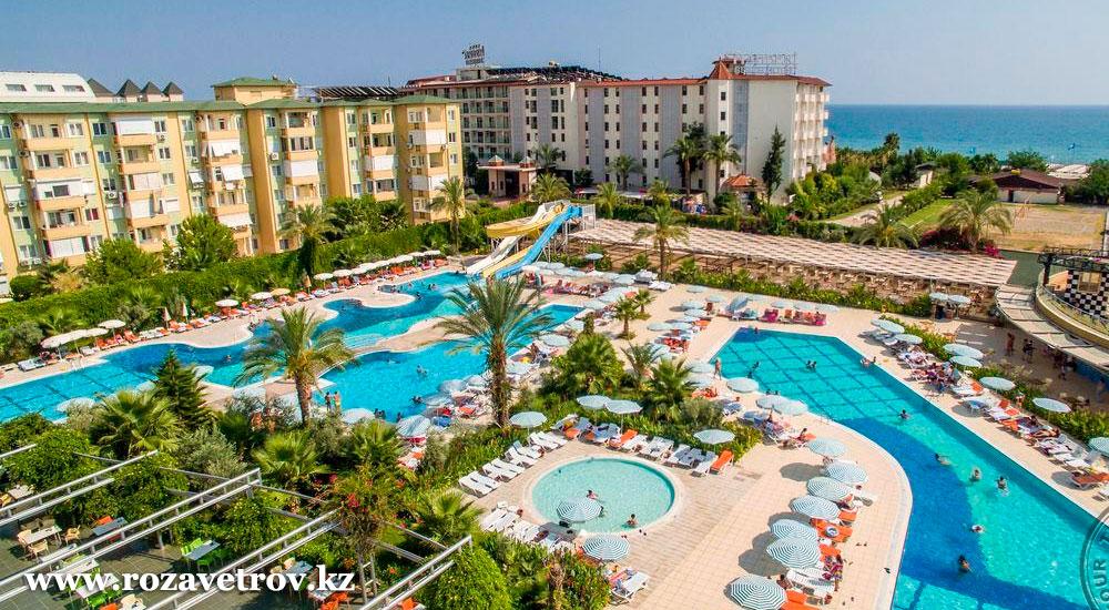 Туры в Турцию! Подборка 5* отелей, отдых по системе «Все включено», вылет из Алматы (6657-02)