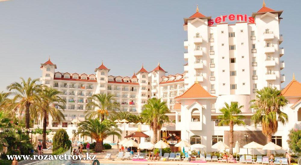 Туры в Турцию на 8 дней! Отдых в 5* отеле по системе «Все включено», вылет из Алматы 29 сентября! (6713-24)