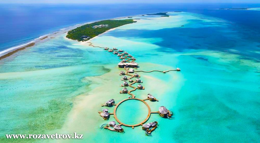 Туры на Мальдивы из Алматы. Райский отдых в шикарных отелях 5* по системе «Все включено»! (6673-07)