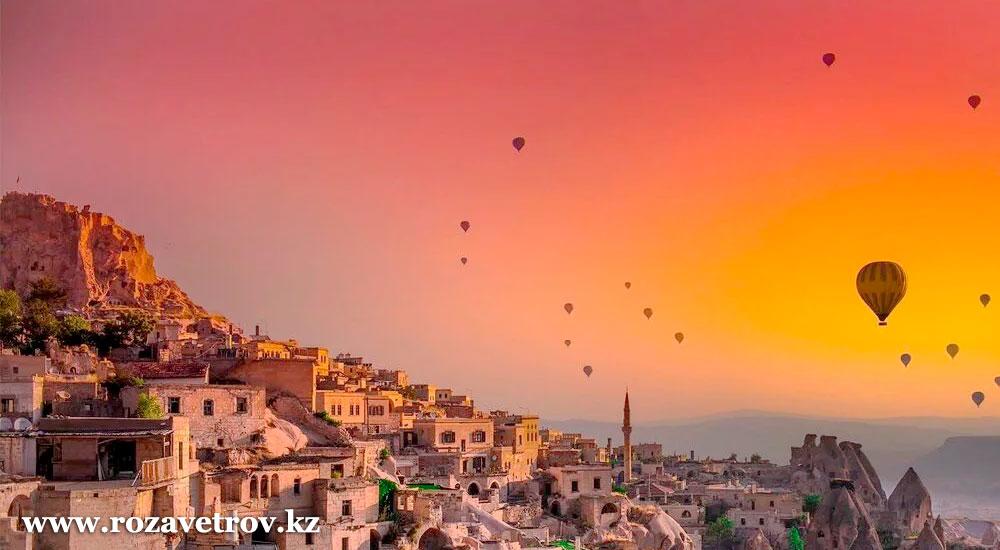 Экскурсионные туры в Турцию! У Вас есть выбор, тур в Каппадокию или наследие Турции