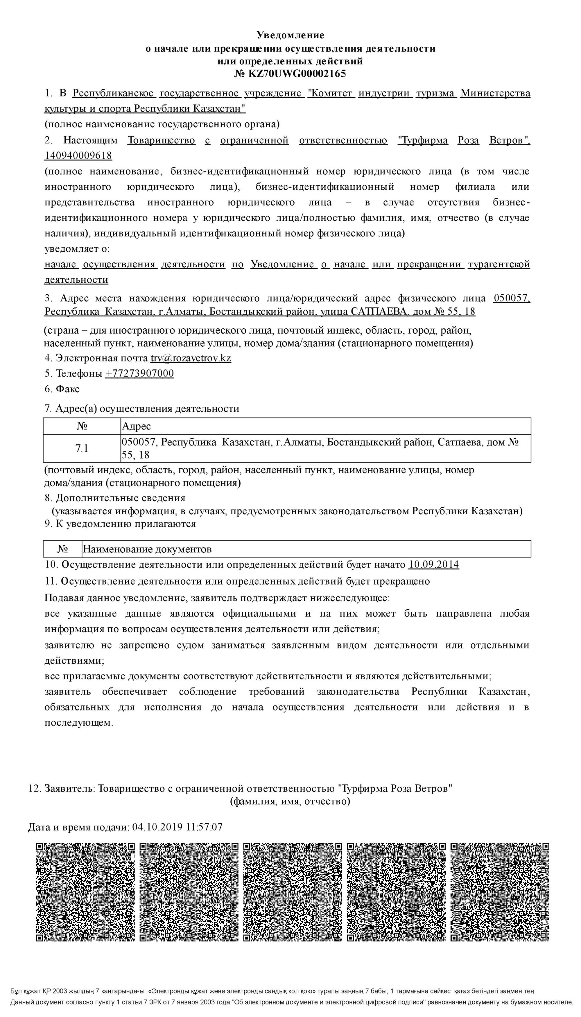 Турфирма диплом