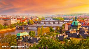 Туры в Чехию, Прага из Алматы. Лучшие туры в рассрочку на 12 месяцев от турфирмы «Ро�