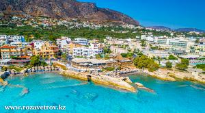 Туры в Грецию, остров Крит из Алматы. Прямой рейс на прекрасный остров, омываемый л