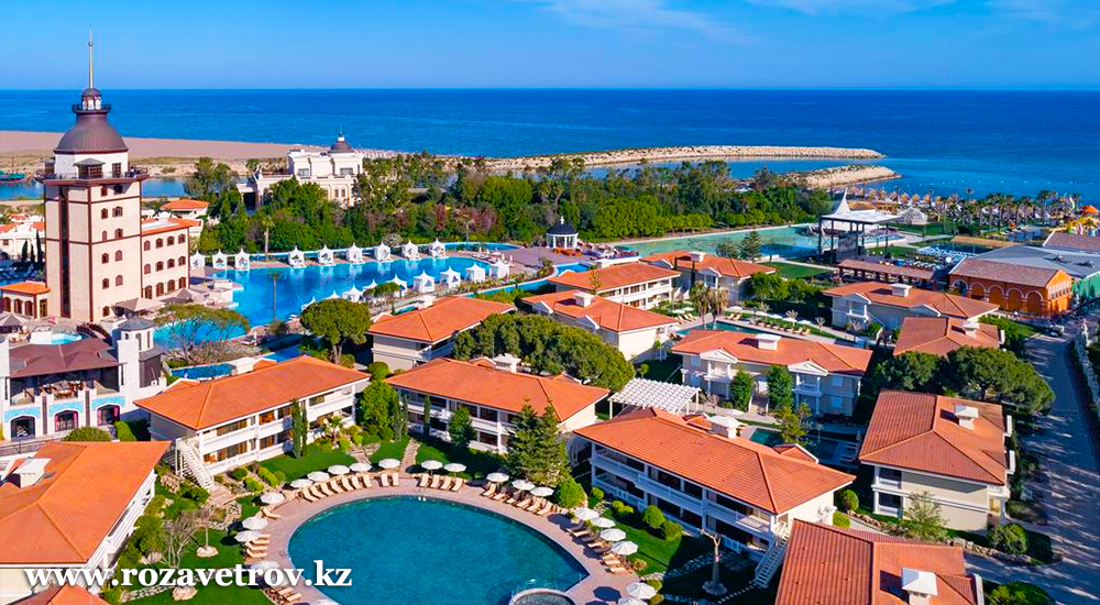 Туры в Турцию из Алматы. Раннее бронирование лучших отелей уровня 5 звезд! (7457-28)